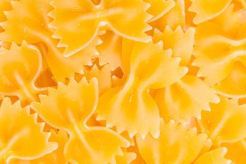 raw Farfalle pasta texture- Stock Photo or Stock Video of rcfotostock | RC-Photo-Stock