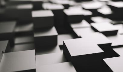 Realistic black solid cubes, located in space at different levels. Abstract background of 3d cubes- Stock Photo or Stock Video of rcfotostock | RC-Photo-Stock