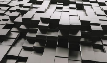 Realistic black solid cubes, located in space at different levels. Abstract background of 3d cubes - 3D rendering - Illustration : Stock Photo or Stock Video Download rcfotostock photos, images and assets rcfotostock | RC-Photo-Stock.:
