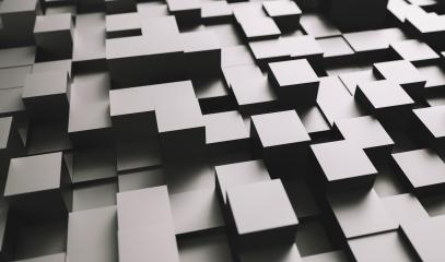 Realistic black solid cubes with a shadow of the same size, located in space at different levels. Abstract background of 3d cubes- Stock Photo or Stock Video of rcfotostock | RC-Photo-Stock