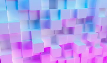 Realistic multi color neon light technology cube background  : Stock Photo or Stock Video Download rcfotostock photos, images and assets rcfotostock | RC-Photo-Stock.: