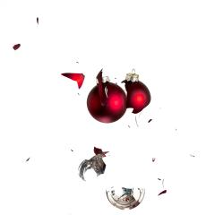 Red christmas balls collide- Stock Photo or Stock Video of rcfotostock | RC-Photo-Stock