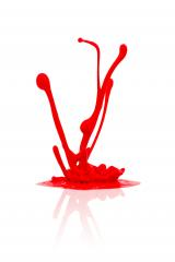 red paint splashing - Stock Photo or Stock Video of rcfotostock | RC-Photo-Stock