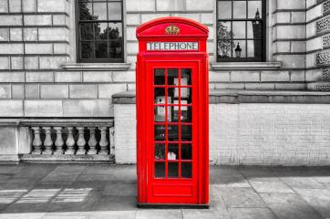 Red phone booth in London- Stock Photo or Stock Video of rcfotostock | RC-Photo-Stock