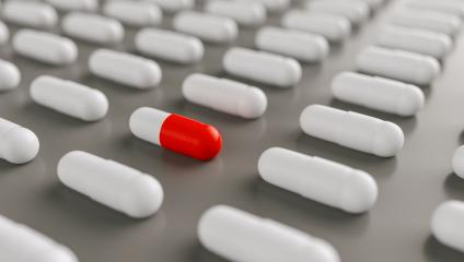red pills or capsules lies in rows, medicine tablets antibiotic, Pharmacy theme- Stock Photo or Stock Video of rcfotostock | RC-Photo-Stock
