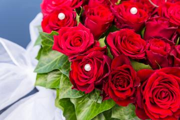 Red roses bouquet- Stock Photo or Stock Video of rcfotostock | RC-Photo-Stock