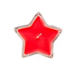 Red star formed candle in glass isolated on white background, christmas or holiday season decoration element : Stock Photo or Stock Video Download rcfotostock photos, images and assets rcfotostock   RC-Photo-Stock.: