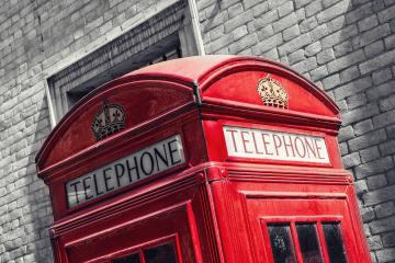 Red telephone booth n London, England, the UK. The symbol of London.- Stock Photo or Stock Video of rcfotostock | RC-Photo-Stock