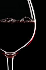Red Wine Glass silhouette on Black Background with Bubbles : Stock Photo or Stock Video Download rcfotostock photos, images and assets rcfotostock | RC-Photo-Stock.: