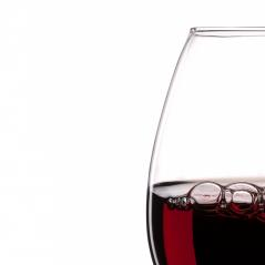 Red Wine Glass silhouette with Bubbles on White Background : Stock Photo or Stock Video Download rcfotostock photos, images and assets rcfotostock | RC-Photo-Stock.: