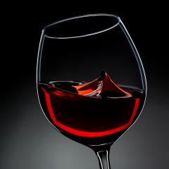 red wine glass with swing waves- Stock Photo or Stock Video of rcfotostock | RC-Photo-Stock