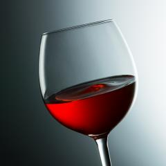 red wine glass with wavy surface- Stock Photo or Stock Video of rcfotostock | RC-Photo-Stock