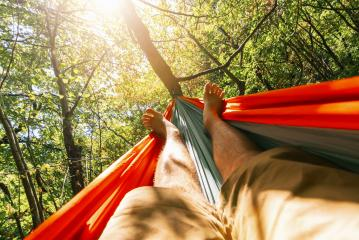relaxing in the hammock at summer- Stock Photo or Stock Video of rcfotostock | RC-Photo-Stock