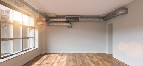 Renovated empty room with windows in loft- Stock Photo or Stock Video of rcfotostock | RC-Photo-Stock