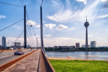 Road to Dusseldorf City : Stock Photo or Stock Video Download rcfotostock photos, images and assets rcfotostock | RC-Photo-Stock.: