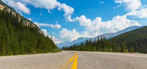 Rocky mountain Highway at Banff Canada  : Stock Photo or Stock Video Download rcfotostock photos, images and assets rcfotostock | RC-Photo-Stock.:
