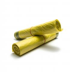 rolls of yellow garbage bags isolated on white background : Stock Photo or Stock Video Download rcfotostock photos, images and assets rcfotostock | RC-Photo-Stock.: