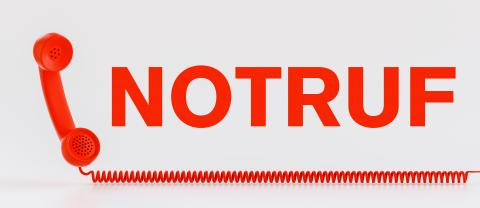 Rotes Notruf Telefon : Stock Photo or Stock Video Download rcfotostock photos, images and assets rcfotostock   RC-Photo-Stock.: