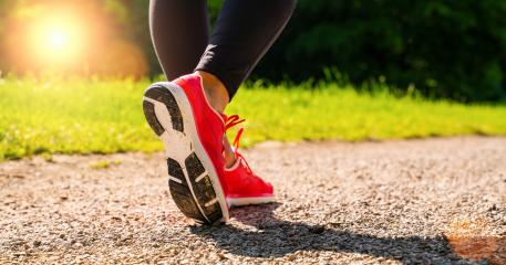 Running shoes runner woman run in forest park at summer. Jogging girl exercise motivation heatlh and fitness.- Stock Photo or Stock Video of rcfotostock | RC-Photo-Stock