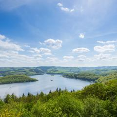 Rursee at the Eifel in germany- Stock Photo or Stock Video of rcfotostock | RC-Photo-Stock