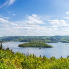 Rursee lake at the eifel national park - Stock Photo or Stock Video of rcfotostock | RC-Photo-Stock