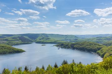 Rursee lake at the Eifel national park at summer : Stock Photo or Stock Video Download rcfotostock photos, images and assets rcfotostock | RC-Photo-Stock.: