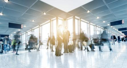Rush Hour at a airport- Stock Photo or Stock Video of rcfotostock | RC-Photo-Stock