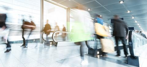 Rush Hour at a shopping mall- Stock Photo or Stock Video of rcfotostock | RC-Photo-Stock