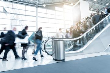 Rush Hour at a trade fair - Stock Photo or Stock Video of rcfotostock   RC-Photo-Stock