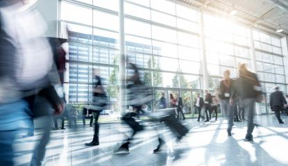 Rush Hour at a trade fair : Stock Photo or Stock Video Download rcfotostock photos, images and assets rcfotostock | RC-Photo-Stock.: