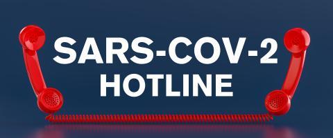 Sars-CoV-2 Covid-19 Coronavirus Hotline with landline telephone receivers- Stock Photo or Stock Video of rcfotostock | RC-Photo-Stock