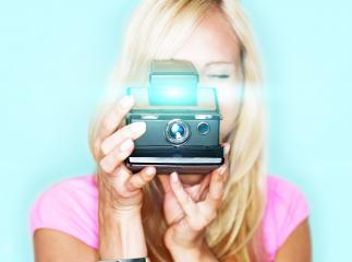 say cheese! vintage photo camera- Stock Photo or Stock Video of rcfotostock | RC-Photo-Stock