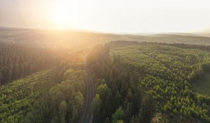 scenic Landscape with mountains covered in clouds and fog. Aerial drone shot : Stock Photo or Stock Video Download rcfotostock photos, images and assets rcfotostock | RC-Photo-Stock.:
