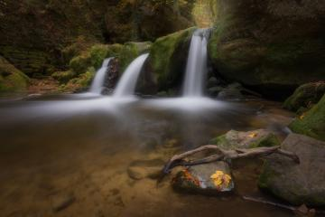 Schissentümpel im Herbst, Wasserfall, Luxemburg  : Stock Photo or Stock Video Download rcfotostock photos, images and assets rcfotostock | RC-Photo-Stock.: