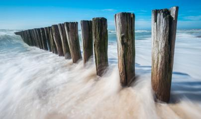sea beach blue sky sand with waves- Stock Photo or Stock Video of rcfotostock | RC-Photo-Stock