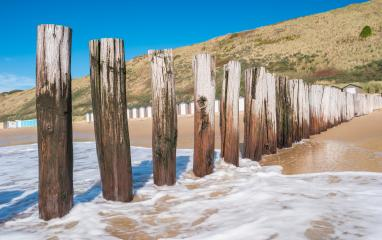 Seascape with breakwaters at Domburg, Netherlands- Stock Photo or Stock Video of rcfotostock   RC-Photo-Stock