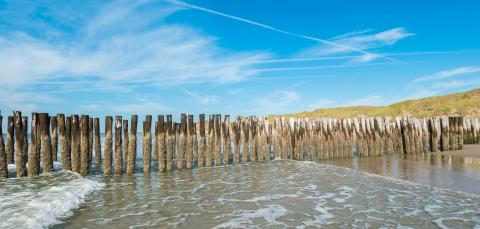 Seascape with wave breakers at Domburg, Netherlands : Stock Photo or Stock Video Download rcfotostock photos, images and assets rcfotostock | RC-Photo-Stock.: