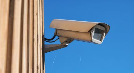 Security camera on a building- Stock Photo or Stock Video of rcfotostock | RC-Photo-Stock