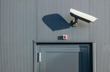 Security CCTV camera or surveillance system in industrial building- Stock Photo or Stock Video of rcfotostock   RC-Photo-Stock