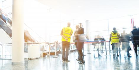 security service at a Exhibition- Stock Photo or Stock Video of rcfotostock | RC-Photo-Stock
