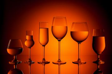 Several alcohol glasses- Stock Photo or Stock Video of rcfotostock | RC-Photo-Stock