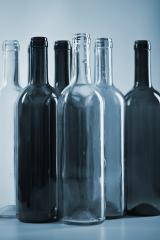several wine glass bottles in blue color : Stock Photo or Stock Video Download rcfotostock photos, images and assets rcfotostock | RC-Photo-Stock.: