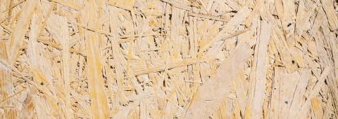 Sheet of plywood with fragments of compressed sawdust, banner size- Stock Photo or Stock Video of rcfotostock | RC-Photo-Stock
