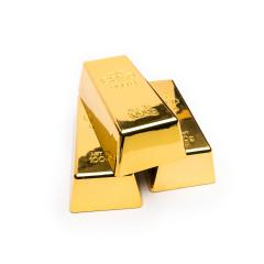 Shiny gold bars isolated on a white- Stock Photo or Stock Video of rcfotostock | RC-Photo-Stock