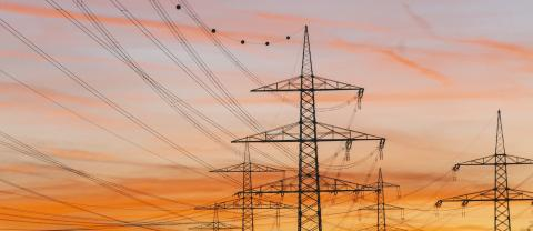 silhouette electricity pole, electricity pylons technology on sunset- Stock Photo or Stock Video of rcfotostock | RC-Photo-Stock