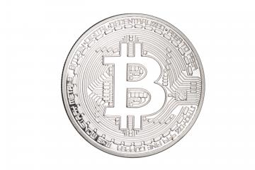 silver bitcoin isolated on white background : Stock Photo or Stock Video Download rcfotostock photos, images and assets rcfotostock | RC-Photo-Stock.: