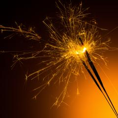 Silvester sparklers- Stock Photo or Stock Video of rcfotostock | RC-Photo-Stock