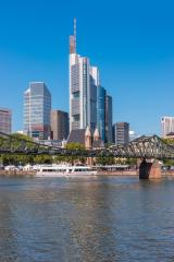 skyline of Frankfurt at summer- Stock Photo or Stock Video of rcfotostock | RC-Photo-Stock