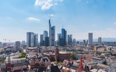 Skyline of Frankfurt, Germany, the financial center of germany- Stock Photo or Stock Video of rcfotostock   RC-Photo-Stock