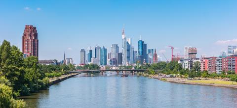 skyline of Frankfurt in Germany- Stock Photo or Stock Video of rcfotostock | RC-Photo-Stock